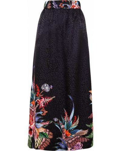 С завышенной талией прямая черная юбка макси Ginger & Smart