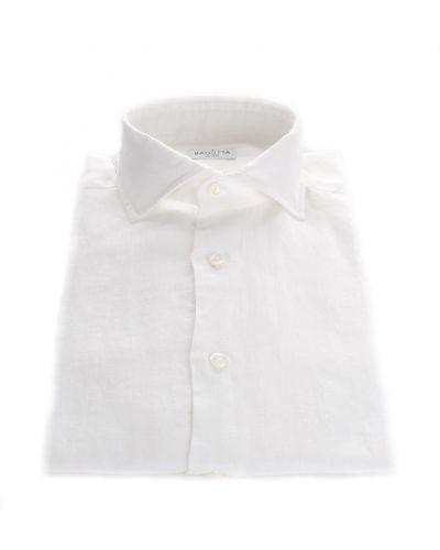 Biała koszula casual Bagutta