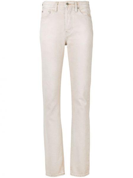 Хлопковые джинсы - бежевые Yeezy