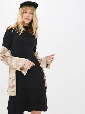 Платье осеннее черное Marks & Spencer