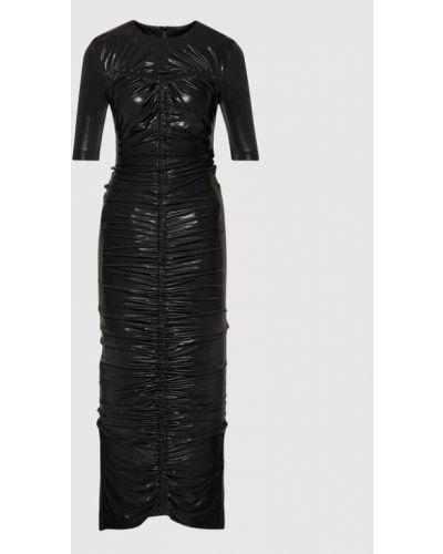 Czarna sukienka wieczorowa Rotate