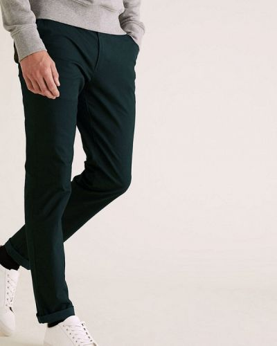 Бирюзовые брюки Marks & Spencer