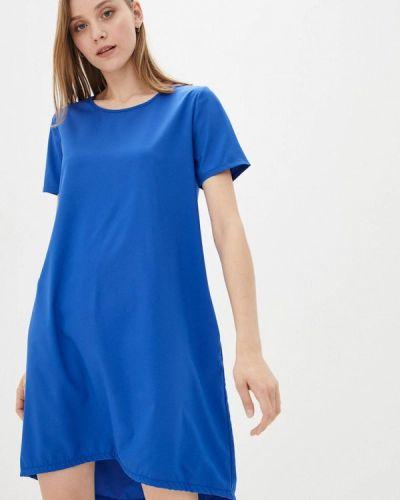 Повседневное синее платье Magnet