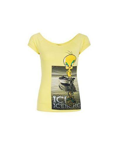 Желтая футболка Ice Iceberg