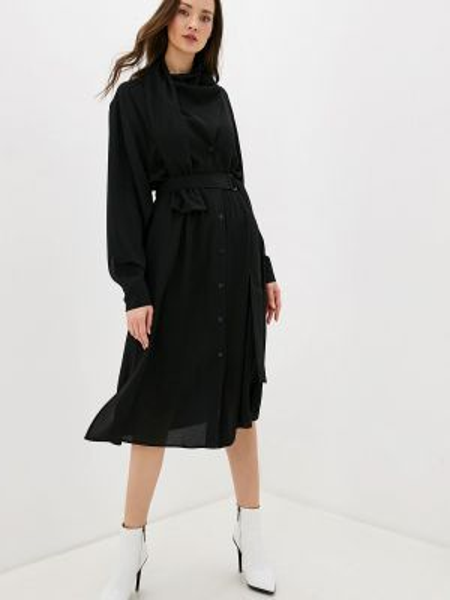Платье прямое осеннее Adolfo Dominguez