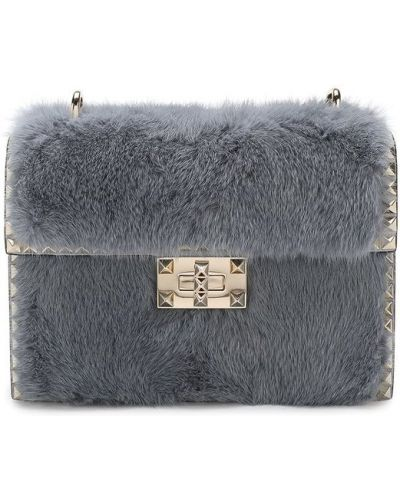 Кожаный сумка вечерняя Valentino