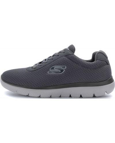 Кроссовки на шнуровке мягкие Skechers