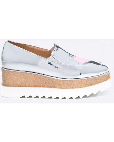 Туфли серебряного цвета Public Desire
