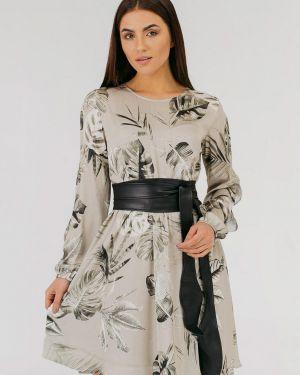 Платье - бежевое Vsv