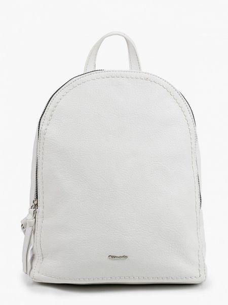 Рюкзак белый из искусственной кожи Tamaris