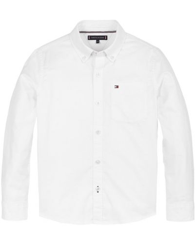 Biała koszula oxford bawełniana Tommy Hilfiger