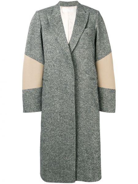 Długi płaszcz klasyczny wełniany Victoria Beckham