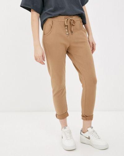 Бежевые брюки Tantra
