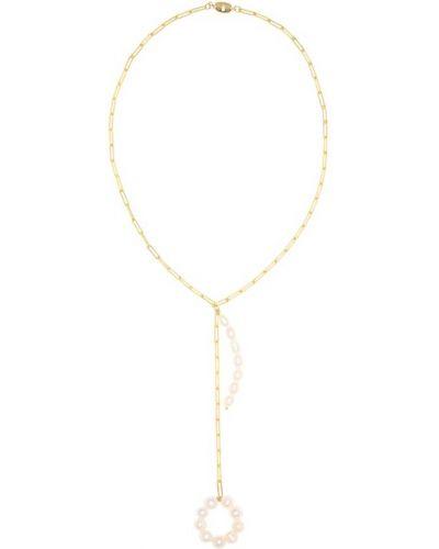 Ожерелье с жемчугом металлическое Timeless Pearly