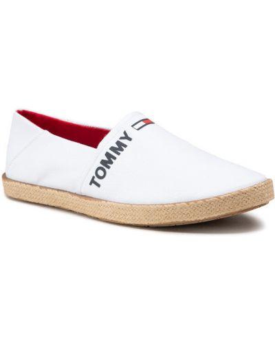 Białe espadryle Tommy Jeans