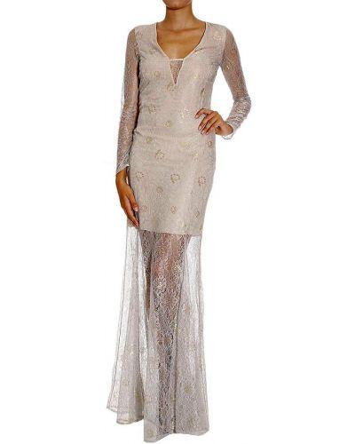 Платье из вискозы - серое Patrizia Pepe