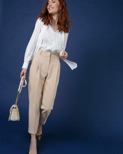 Укороченные брюки летние со складками Audrey Right