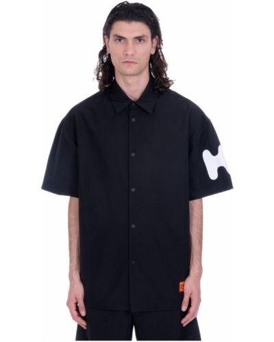 Koszula oversize - czarna Heron Preston