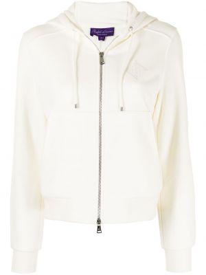 Biała bluza z długimi rękawami Ralph Lauren Collection