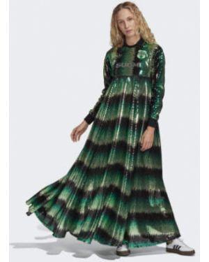 Платье с пайетками мерцающее Adidas