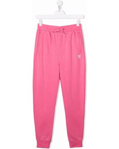 Joggery - różowe Adidas Kids