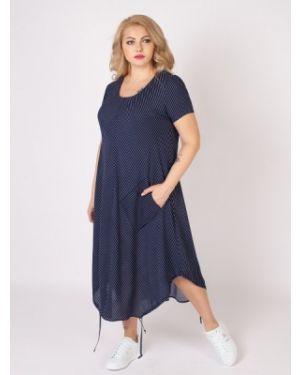 Летнее платье со складками платье-сарафан Sparada