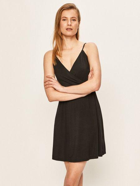 Трикотажное платье - черное Volcom