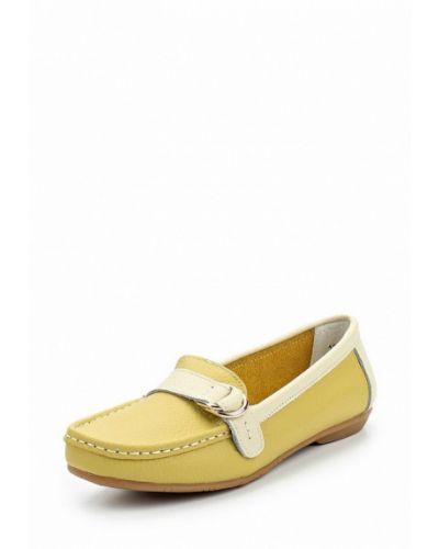 Желтые мокасины Zenden Comfort
