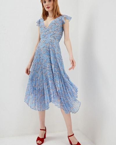 Платье - голубое Markus Lupfer