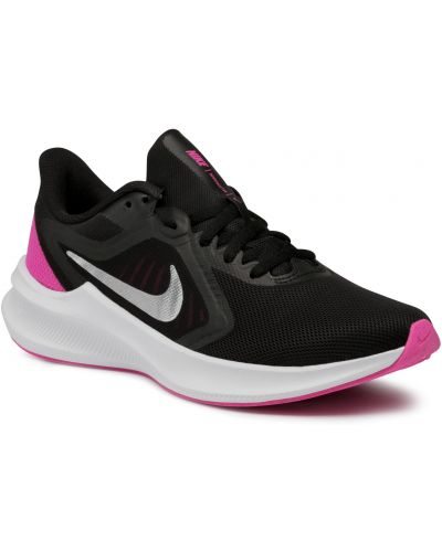 Buty sportowe srebrne - czarne Nike