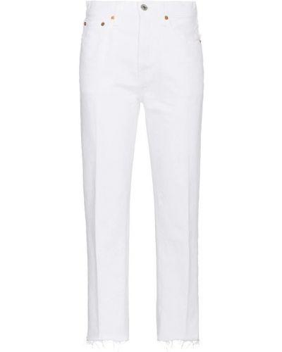 Białe jeansy Re/done