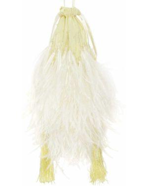 Żółta torebka mini The Attico