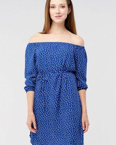 Синее платье мини Mascot