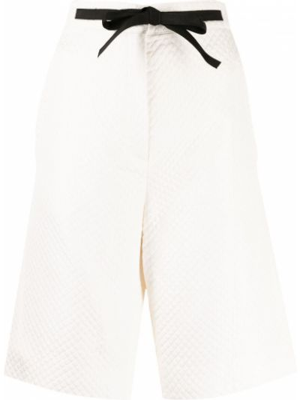 Białe szorty Christian Dior