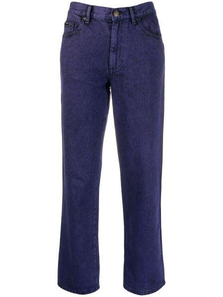Прямые джинсы фиолетовый на пуговицах Marc Jacobs