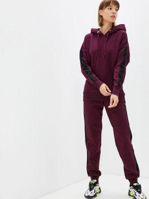 Бордовый спортивный костюм осенний Ko'msi
