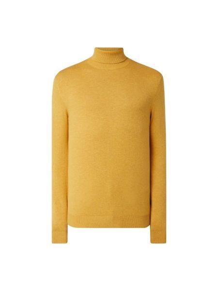 Sweter bawełniany - żółty Jack & Jones
