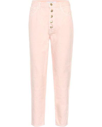 Прямые джинсы mom розовый J Brand