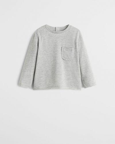 Блуза с карманами Mango Kids