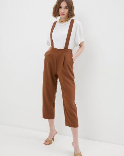 Коричневые классические брюки Rinascimento