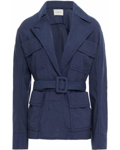 Синяя куртка на пуговицах Vince