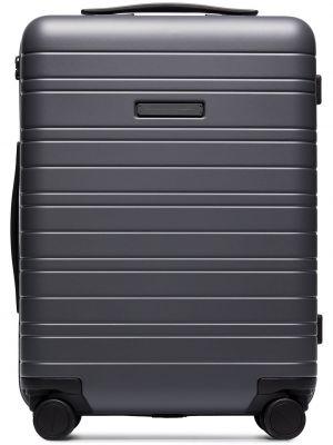 Серый нейлоновый чемодан Horizn Studios