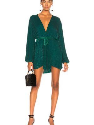 Платье с запахом - зеленое Retrofete
