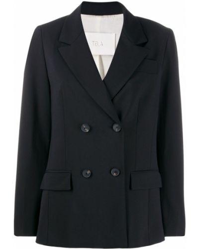 Черный пиджак Tela