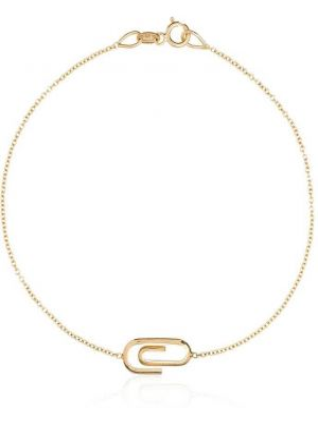 Золотой браслет Lizzie Mandler Fine Jewelry