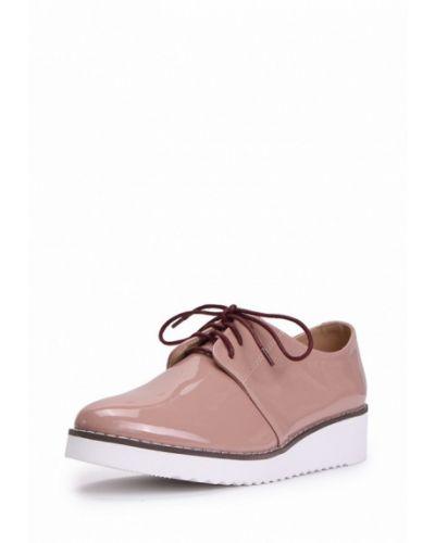 Бежевые кожаные ботинки T.taccardi