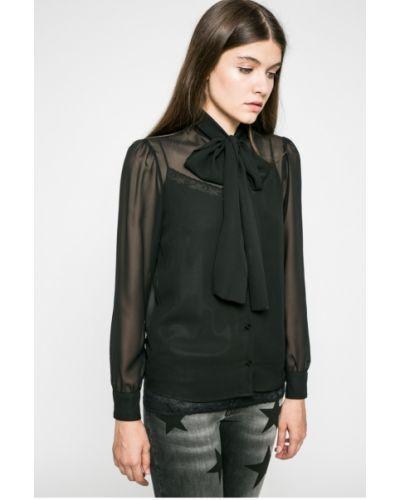 Черная блузка прямая Liu Jo