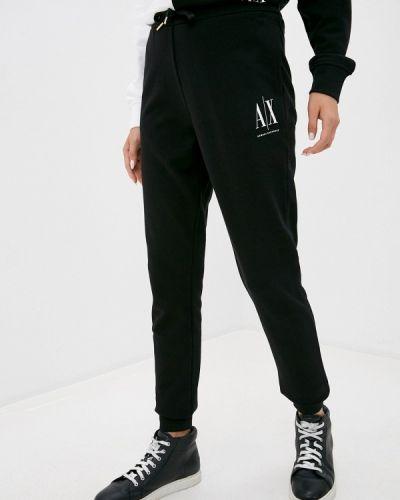 Спортивные черные спортивные брюки Armani Exchange