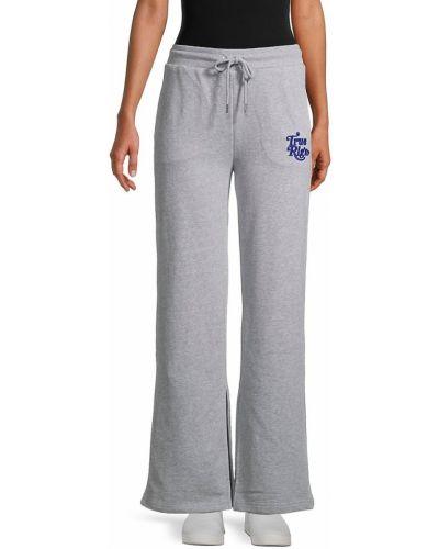 Хлопковые брюки с карманами свободного кроя True Religion