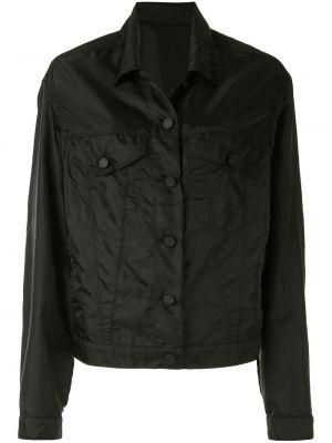 Черная куртка с воротником с карманами Rta